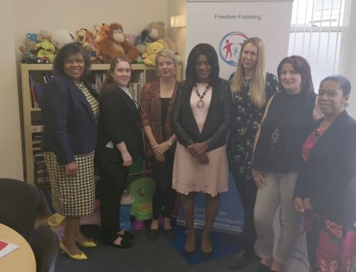 Eleanor Smith MP visits Freedom Fostering