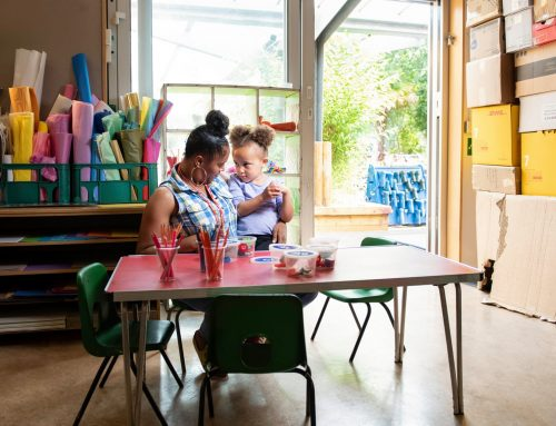 'Kids need contact': nursery staff during lockdown – a photo essay